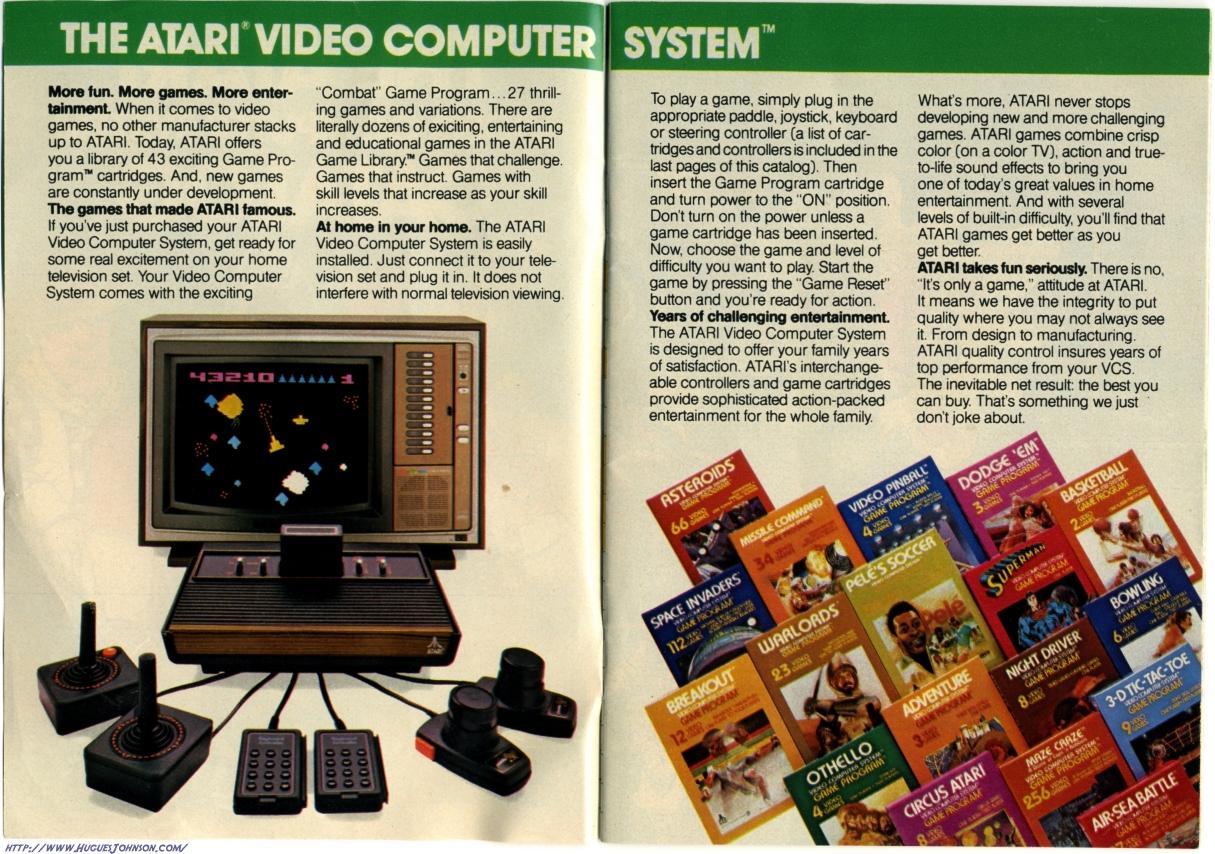 HuguesJohnson.com: Atari Catalog 1981 Scans