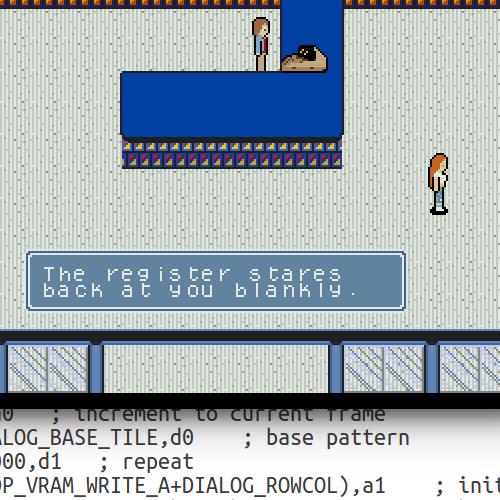 Sega Genesis Programming Part 11: Scenes & Dialogs