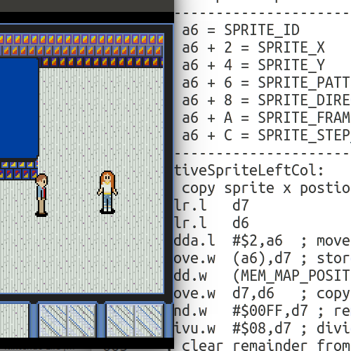 Sega Genesis Programming Part 7: NPC Sprites
