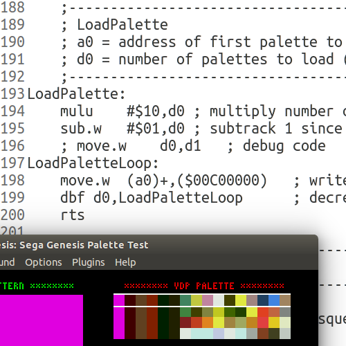 Sega Genesis Programming Part 1: Palettes