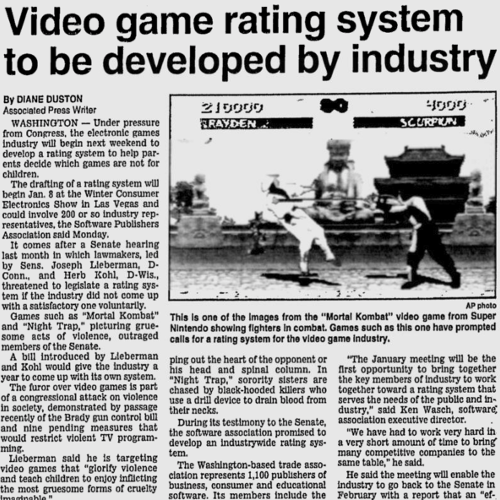 An incomplete history of video gaming according to random Google newspaper archive searches
