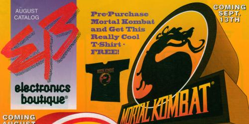Electronics Boutique August 1993 Catalog