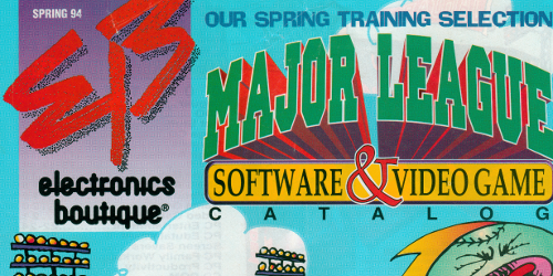 Electronics Boutique Spring 1994 Catalog