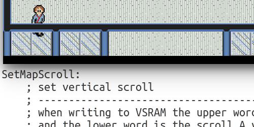 Sega Genesis Programming Part 6: Vertical Scrolling
