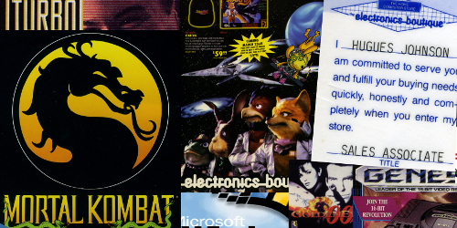 My Loser Phase: Reflections on Video Game Retail from 1992-1997