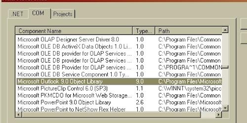 Outlook Screen Saver