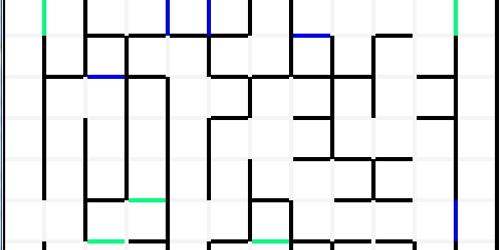 Random Maze Experiment