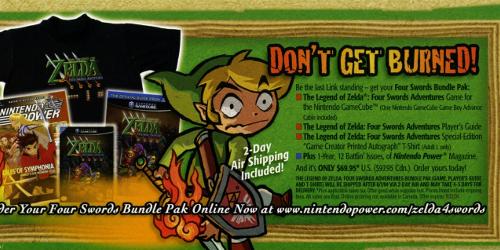 Zelda Pre-Order Scans