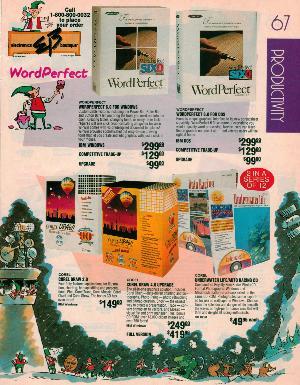 Electronics Boutique Christmas 1993 Catalog