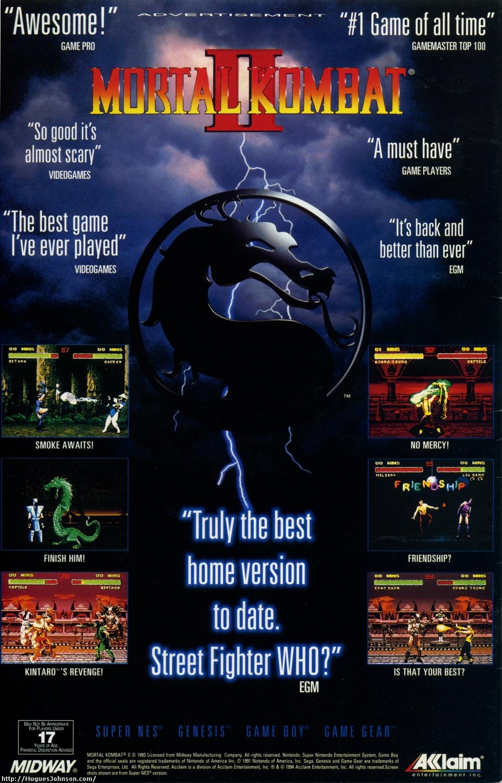 Huguesjohnson Com Mortal Kombat Ads