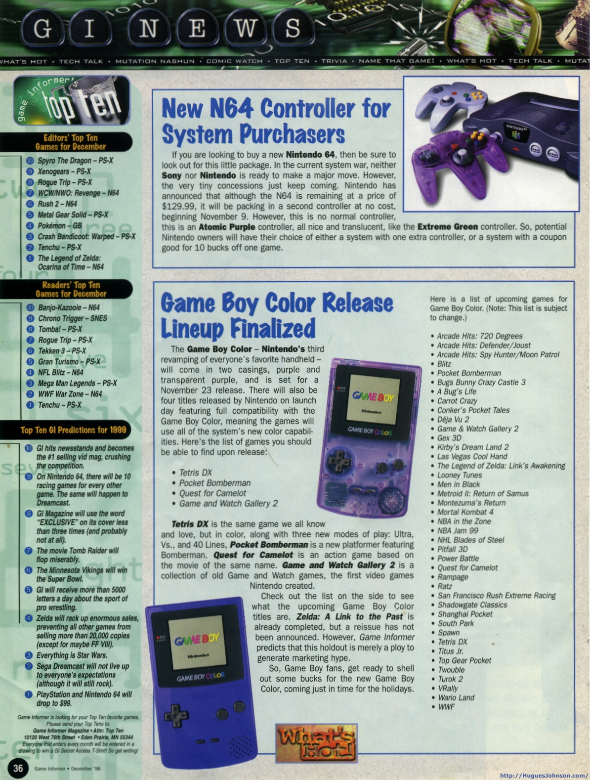 Gameboy color ad - Gameboy Color Ad 6